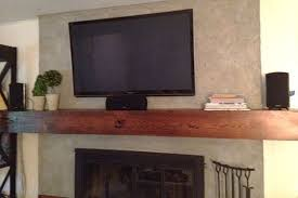 floating mantel brackets