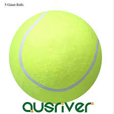 "Hot* 5x <b>24cm</b>/9.5"" Outdoor <b>Large Giant Tennis Ball</b> Kids Pets Toys ..."