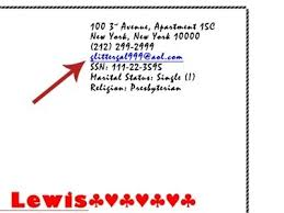 Professional Email Address Examples World Of Examples