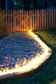 pathway lighting kits best of low voltage and outdoor path sets use rope
