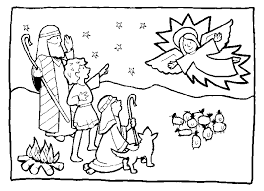 Small Picture shepherds coloring pages christmas angels and Shepherds of