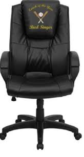 custom made office chairs. Fine Office Flash Furniture Dreamweaver Personalized Black Leather Executive Office  Chair Intended Custom Made Chairs C