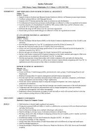 Technical Architect Resume Sample Senior Technical Architect Resume Samples Velvet Jobs 23