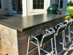 what a match made in heaven outdoor kitchens and concrete countertops counterevolution s high performance concrete countertops will add stunning good