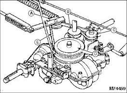 service mower gx85 transaxle drive system