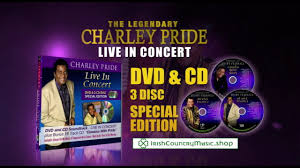 charley pride live in concert dvd 2 cd disc