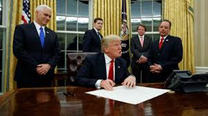 president in oval office. Trump Making Changes To Oval Office; Puts Up Bust Of Winston Churchill President In Office A