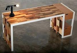 office desk wooden. Perfect Wooden Wooden Office Desk Home Reclaimed Wood Awesome Kitchen  Exterior By Design Ideas Modern To Office Desk Wooden O