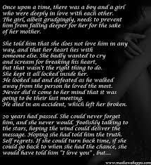 sad love story essay spm