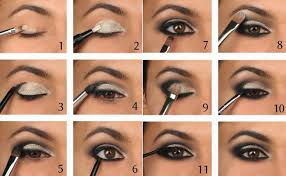 easy makeup step by step y eye makeup tutorial how to draw smoky eye with