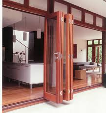 exterior folding doors for exterior sliding door systems