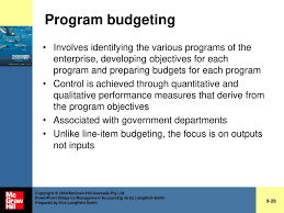 Chapter 9 Budgeting Systems Ppt Download