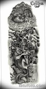тату эскизы на руку мужские рукава 09032019 014 Tattoo Sketches