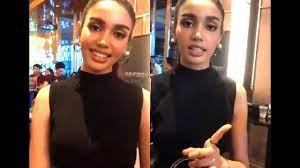 วีณา ตอบคำถาม + พูดภาษาอังกฤษ   Miss Universe Thailand 2018 - YouTube