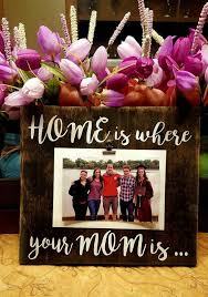 mother picture frame mother s day gift home is where your mom is