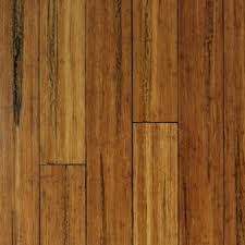 Click Strand Woven Bamboo with HDF core Carbonized Patina