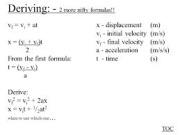 3 deriving