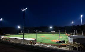 henderson state university henderson states red baseball team will play a home game at night for