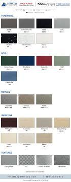 Scranton Comtec Solid Plastic Color Chart