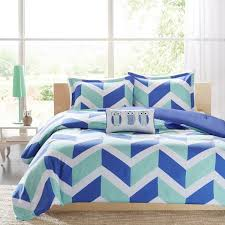 pictures gallery of rainbow chevron bedding