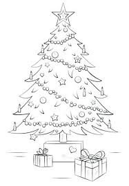 Amazing Free Christmas Tree Coloring Pages Cute Tree Coloring Page