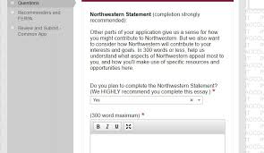 the ultimate guide to applying to northwestern northwestern statement