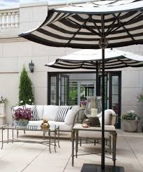 black and white striped furniture. black and white striped umbrella furniture
