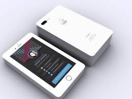 Design An Original Iphone Business Card By Premiumencore