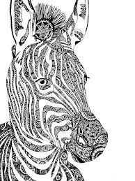 Some tips for printing these coloring pages: Free Zebra Coloring Pages For Adults Printable To Download Zebra Coloring Pages