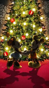 disney christmas iphone wallpaper. Mickey Mouse Minnie Disney Christmas 2015 Wallpaper For Iphone