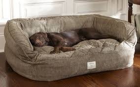 washable dog bed. Exellent Washable Combined With A Cosy Microfibre Cover Are Ideal For When The Weather  Starts To Turn Colder Lounger Deep Dish Dog Bed In Herringbone In Washable Dog Bed B