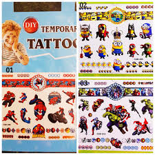 Tattoo For Kids Goodie Bag Goody Bag Temporary Tattoo For Kids