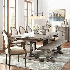distressed white round dining table rustic dining room table sets wood kitchen round tables and chairs