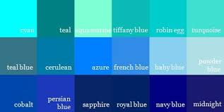 Blue In Green Chart The 12 Basic Color Options Boardgamegeek Boardgamegeek