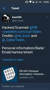 Leak Kuroi Hacked And By Cyberteam scanned 'sh Https Fbi nvx4x0qZ
