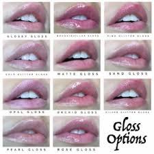 Lipsense Gloss Options Pictures Descriptions Plus My