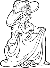 Small Picture Clipart dress coloring pages collection