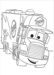 disney cars coloring pages mack. Download And Print Coloring Pages For Mack The Truck Disney Cars Inside Pinterest