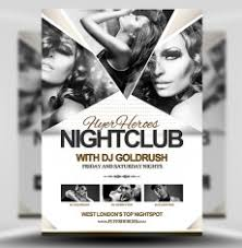 nightclub flyers premium psd flyer templates for photoshop flyerheroes