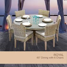 60 round patio table set new inch outdoor dining within inspirations 19