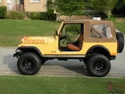 1982 jeep cj 7 renegade unred original paint solid ca cj rare color cj7