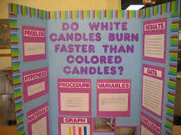 science fair headings printable white board ideas do white candles burn faster than color candles