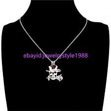 k848 flower skull beads cage locket