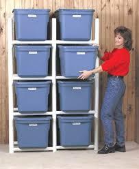 garage storage boxes. Unique Boxes Storage Racks For Plastic Bins Inside Garage Storage Boxes