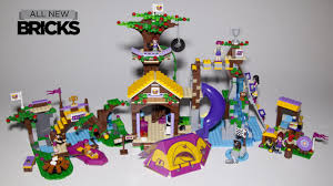 Lego Friends 2016 Adventure Camp Tree House Set 41122 Review  YouTubeFriends Lego Treehouse