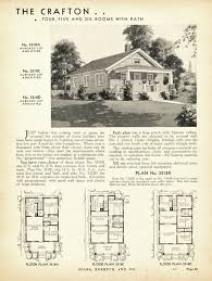 The Crafton  Perhaps Sears Most Popular Kit Home   Sears Modern HomesCrafton  as seen in the Sears Modern Homes catalog