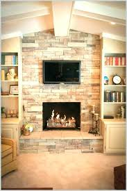 refacing brick fireplace with stone s cost to reface veneer