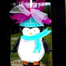 penguin door decorating ideas. Winter Door Hangers Penguin Decorating Ideas