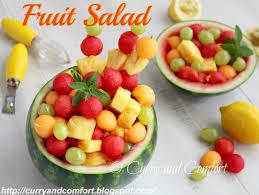 watermelon fruit salad bowl. Wonderful Watermelon Fruit Salad In Watermelon Bowl And O