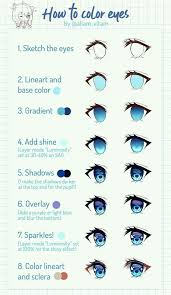 Pin by Ivy Schwartz on bocetos para dibujar in 2020 | Drawing tutorial  face, Anime eye drawing, Anime art tutorial